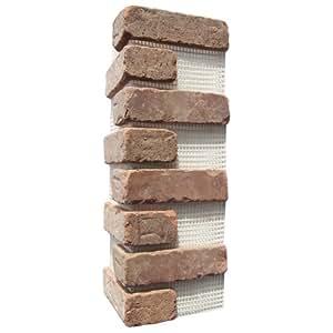 Brickweb Thin Brick Box of Castle Gate Corners - 5.3 Lineal Ft.