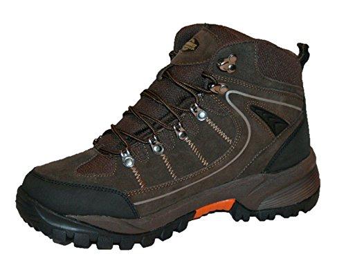 In Rae Northwest Escursioni Passeggiate Stivale Pelle Per Territory Brown Trekking Mens Impermeabile wICCpBq