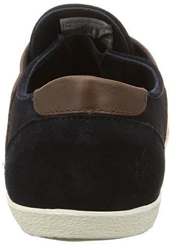 FaguoCypress23 - botas de caño bajo Hombre Azul - Bleu (005 Navy/Moka)
