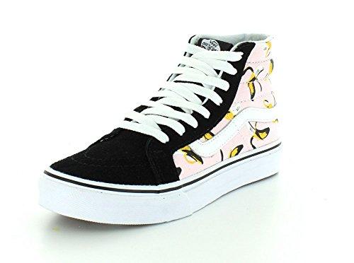 Bestelwagens Sk8-hi Slank Ronde Neus Canvas Sneakers Ballerina / True White