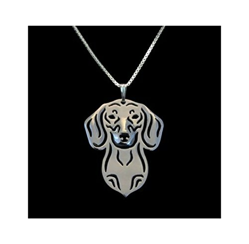 Dachshund Necklace Pendant -