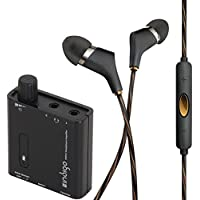 Reference Series X6i In-Ear Headphones (Black) + Indigo PHPA1 Portable Headphone Amplifier Kit