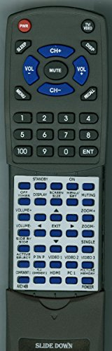 Replacement Remote for Pioneer 3S120252, AXD1499 -  Redi-Remote, RTAXD1499