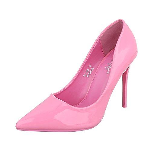 Ital-Design Women's Closed Pink ZJ-08 9vevJK9li