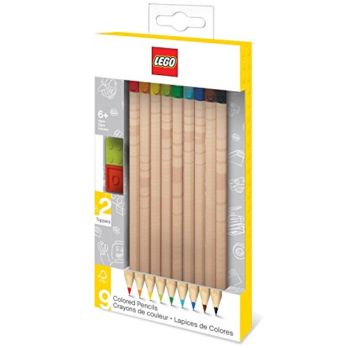 LEGO Colored Pencil Brick Toppers product image