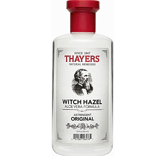 Thayers Witch Hazel with Aloe Vera, Original Astringent 12 oz ( Pack of 3) ()