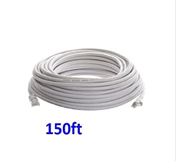 150ft CAT6 RJ45 Ethernet LAN Network Patch Cable For PS XBox Internet Router WT