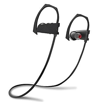 Auriculares Bluetooth, auriculares inalámbricos auriculares impermeable, sonido de primera calidad con Graves y reducción