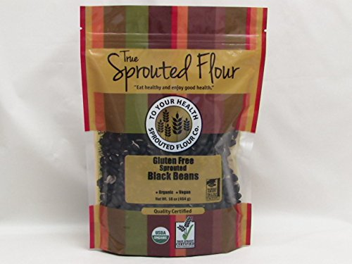 5lb. Organic, Sprouted Black Beans