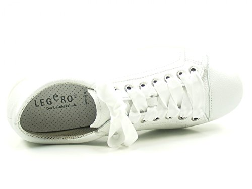 00860 Trapani Flats Tanaro Womens Legero Lace up 2 Bianco a5gqnOZ