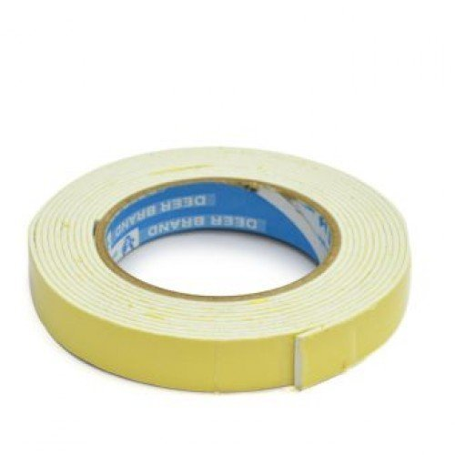M'VIR Mounting Tape Double Sided Adhesive Two way Foam Tape 1 Inch x 150 - Square Price India T In
