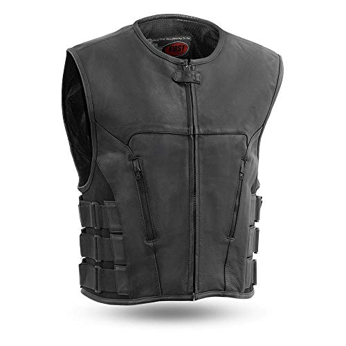 First Manufacturing Men's Updated SWAT Team Style Vest (Black, X-Large)