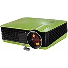 Led Projector 2200 Lumensandroid Tablet Projector 1080P HD 3D Led Video Projector For Home Theater Entertainment,Green