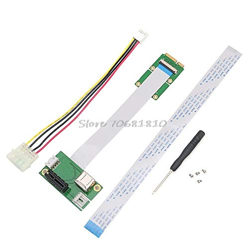 - TL-ANALOG Mini PCI-E to PCI-E Express 1X Extension Cord Adapter Card with USB Riser Card Drop Shipping