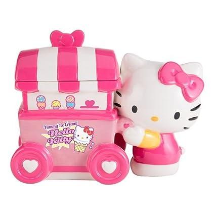 Hello Kitty – Carrito de helados de cerámica tarro para galletas por Vandor