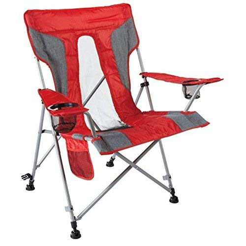 Quest All Terrain Chair with carry bag-True Red