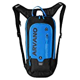 Arvano Mountain Bike Backpack Cycling Backpack - 6L Breathable Hydration Pack Biking Backpack Lightweight Ski Rucksack, Bicycle Backpack for Running Riding Skiing Fits Men Women (NO Water Bladder)