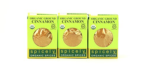 Photo of Spicely Organic Cinnamon Powder (Cassia)