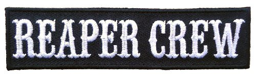 Hook Fastener Reaper Crew Outlaw Morale Tactial Cap Patch By