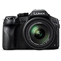 Panasonic LUMIX DMC-FZ300K 4K, Point and Shoot Camera with Leica DC Lens 24X Zoom (Black) (International Model) No Warranty