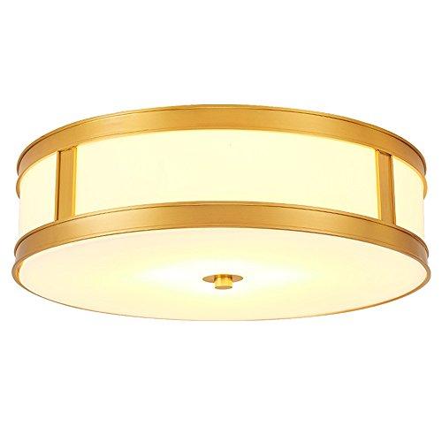 Modern Led Ceiling Lights Copper Acrylic Plafondlamp Dining Room Living Room Vintage Ceiling Lamp Indoor Lighting