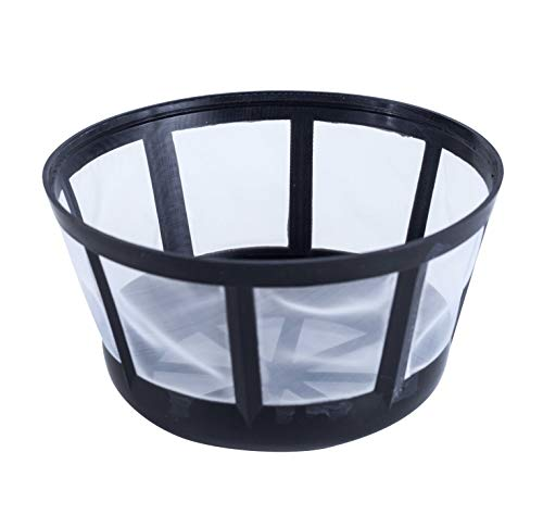 Coffee Brew Basket - Fill & Brew Reusable Coffee Filter Basket for Most Mr. Coffee, Black & Decker, Regal a&d Procter Silex Coffee Makers, 1-Pack