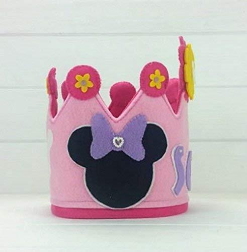 Corona Cumpleaños Minnie: Amazon.es: Handmade