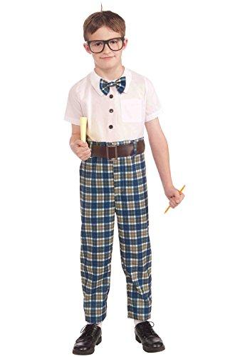 Forum Novelties Class Nerd Child Costume, Large