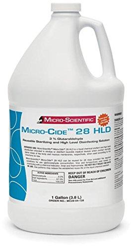 Micro-Scientific Micro-Cide28 Hld Disinfectant, 1 Gallon MC28-04-128