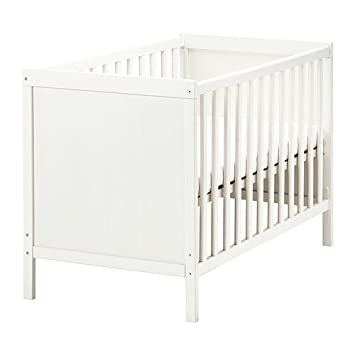 Kinderbett weiß ikea  Ikea SUNDVIK Babybett in weiß: Amazon.de: Küche & Haushalt