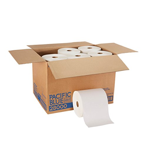 (Pacific Blue Select Premium 2-Ply Paper Towel Rolls (Previously Branded Signature) by GP PRO (Georgia-Pacific), White, 28000, 350 Feet Per Roll, 12 Rolls Per Case)