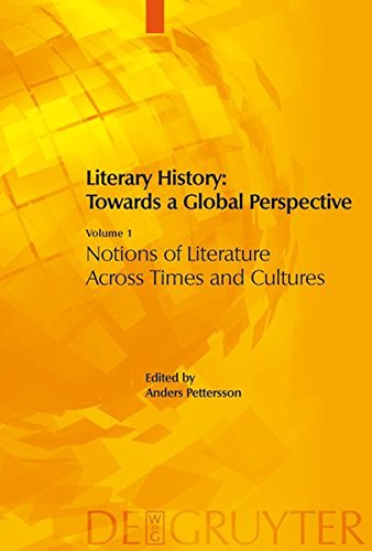 Download Literary History: Towards a Global Perspective (Four Volumes) ebook