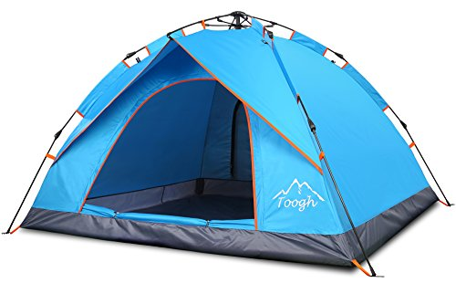 2-3 Person Camping Tent - Toogh 4 Season Backpacking tent Sundome pop up Tents for Outdoor Sports
