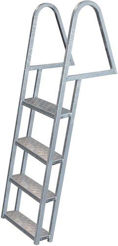 3 Step Dock Ladder, Galvanized - Jif Marine