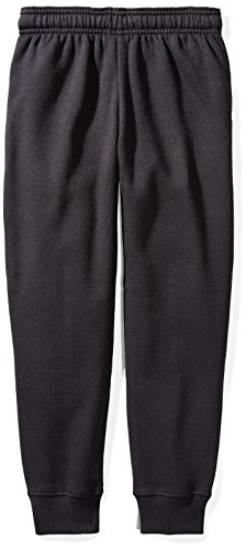 Starter Girls' Jogger Sweatpants Pockets, Prime Exclusive, Black Power Pink Logo, M (7/8) by Starter (Image #2)