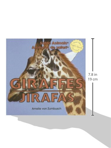 Giraffes/ Jirafas (Safari Animals / Animales De Safari) (English and Spanish Edition)