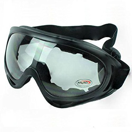 e7e7af0a07f Fincos UV Protective Eyewear Goggles Glasses Sunglasses Ski Skiing Snowboard  - (Color  Transparent)