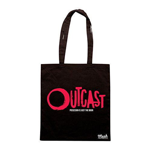 Borsa OUTCAST HORROR SERIE TV TITLE - Nera - FILM by Mush Dress Your Style