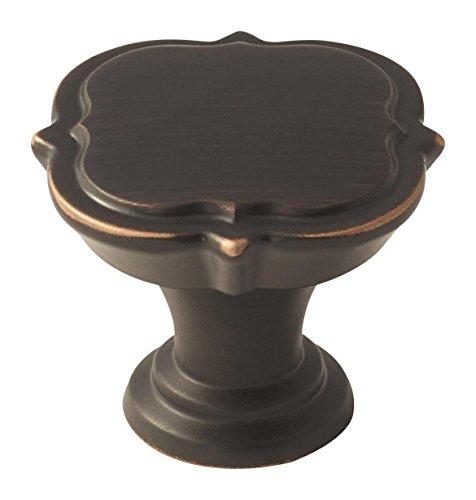 Knobs Amerock Bronze (Amerock BP36628ORB Grace Revitalize 1-3/8 in (35 mm) Diameter Oil-Rubbed Bronze Cabinet Knob)