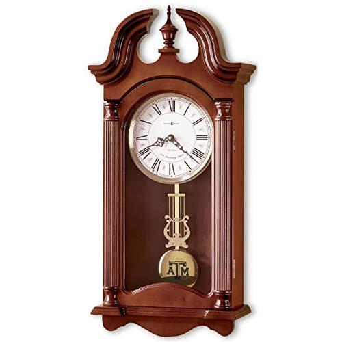 M. LA HART Texas A&M Howard Miller Wall Clock -