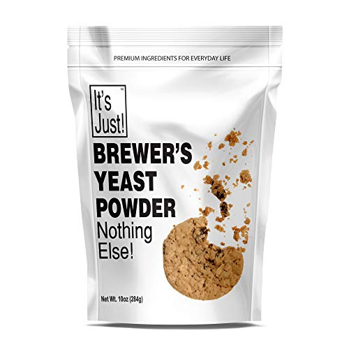 It's Just – Brewers Yeast Powder, Keto Baking, Sourdough Bread, Boost Mother's Milk, Make Lactation Cookies, 10oz