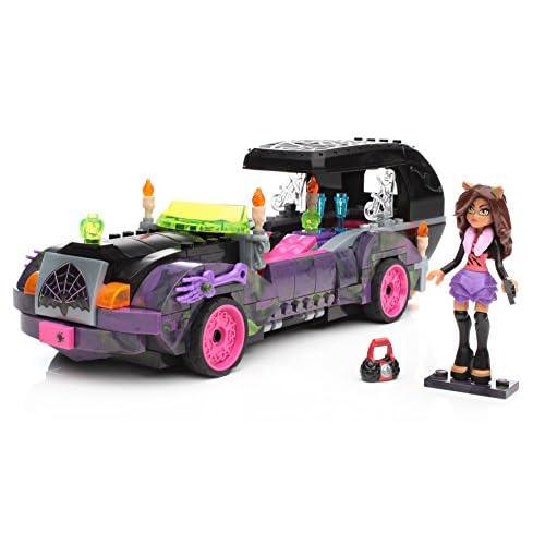 Mega Bloks Monster High Moviemobile 301pc Construction Ensemble de jeu jouet