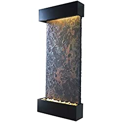 BluWorld Nojoqui Falls Indoor Outdoor Wall Fountain Large