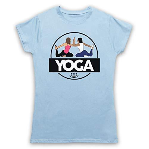 Cielo Exercise Mujer Yoga Azul My Camiseta Para Health Clothing amp; Fitness Icon Art 0wn7q6vHR