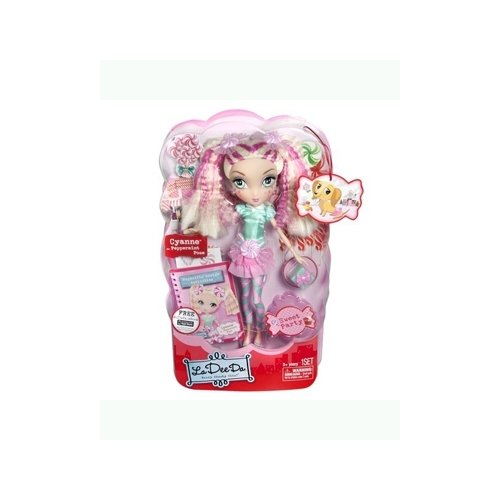 La Dee Da Sweet Party Cyanne as Peppermint Pose 12 inch Doll by La Dee Da