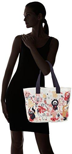 de Mujer tela Varios Colores Congratz Kipling Bolsas de playa Eva y Congratz qxOX0H