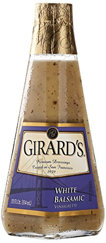 Girard's White Balsamic Vinaigrette Dressing, 12 Ounce Dijon Vinaigrette Salad Dressing