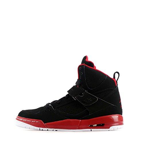 Nike Air Jordan Flight 45 High IP BG Hi Top Trainers 845095 Sneakers Shoes (uk 4 eu 36.5, black gym red white 002)