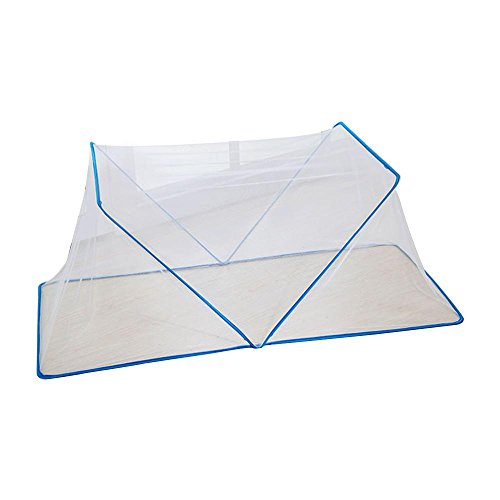AOLVO Baby Mosquito Net Tent Collapsible Small Portable Folding mosquito netting or Large Mesh Screen Food Cover Tent Umbrella Outdoor Picnic Food Covers Mesh, Food Cover Net,2pcs