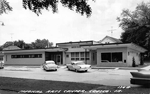 Art Center Iowa - Real Photo Postcard Medical Arts Center in Cresco, Iowa~122154